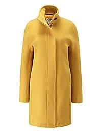 Womens Gigi Coat Mustard