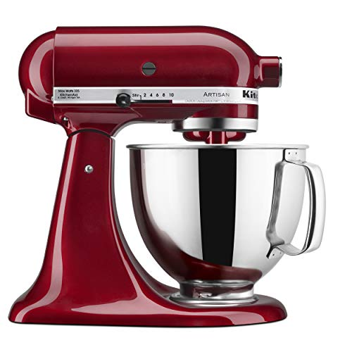 KitchenAid KSM150PSGD Artisan Stand Mixers, 5 quart, Grenadine