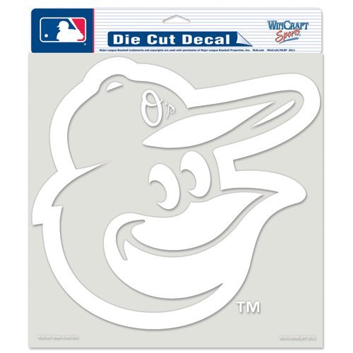 Baltimore Orioles 8''X8'' Die-Cut Decal