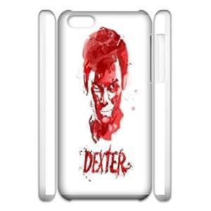 iphone6 Plus 5.5 3D Cell Phone Case Phone Case White Dexter-Blood WQ5RT7487272