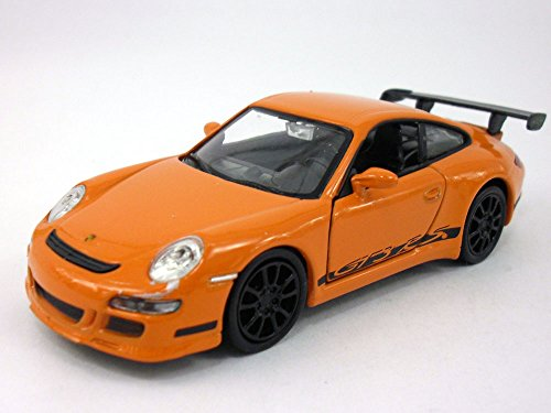 Welly 4.75 inch 911 / 997 GT3 RS Scale Diecast Model Orange