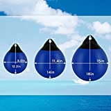 Inflatable Vinyl Mooring Anchor Buoy, Boat Fenders