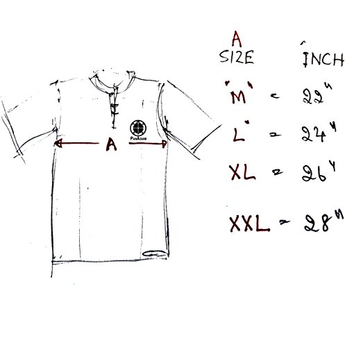 Shirt Noir Freshrunk Coton Panasiam et longues L manches à Fischerman M En XL XL HwHxOqFC