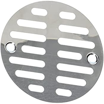 lasco 312inch with two screws shower drain grate chrome plated