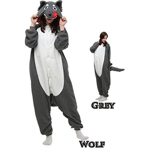 Adult Animal Kigrumi Pajamas, Unisex Onesie Cosplay Costume
