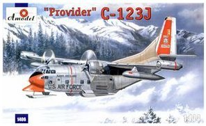 Provider Usaf Aircraft - C-123J 'Provider' USAF aircraft (Chase Aircraft Company) 1/144 Amodel 1406
