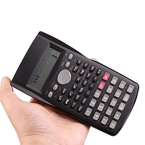 Meich Scientific Calculator Trigonometry Portable Handheld Function Calculator Multifunctional Calculating Machine for Office//Home//School Student Slim Elegant Design Black KA02