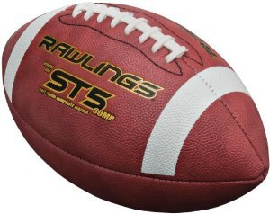 - Rawlings ST5COMPB Official Size NCAA® and NFHS® Approved Composite Leather Game Football