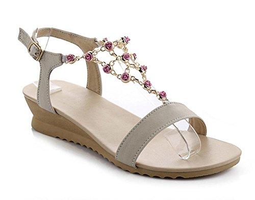 Estudiantes Los Zapatos Cuesta Verano Del Con La Bajo Sandalias Tacón Femenino Flores Y White Las Mujeres Zapatillas De Sexo wqSZwnRI