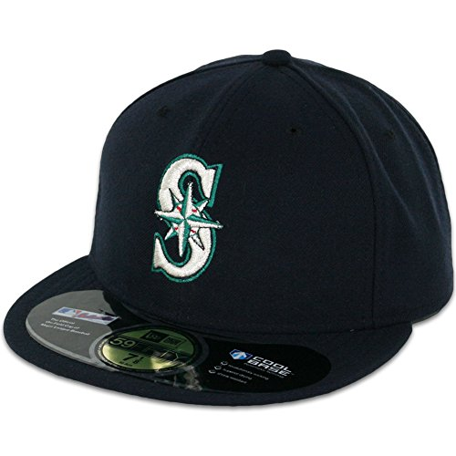 Field Game 59fifty Cap (MLB Seattle Mariners Game AC On Field 59Fifty Fitted)