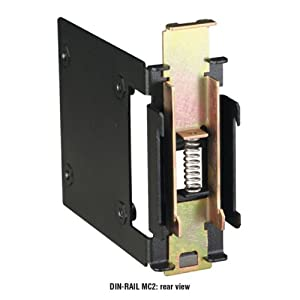 Black Box DIN Rail Mounting Bracket for LBHxxxA Switches