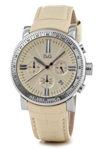 D&G Dolce&Gabbana DW0678 – Reloj analógico de mujer de cuarzo con correa dorada