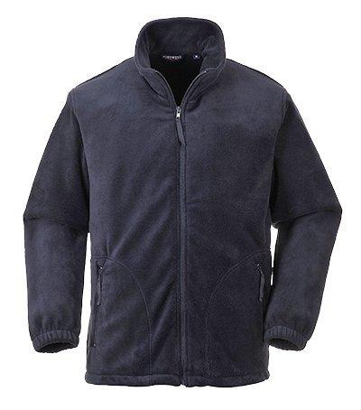 Portwest Mens Argyll Heavy Fleece Anti-Pill Jacket (F400) (M) (Navy)