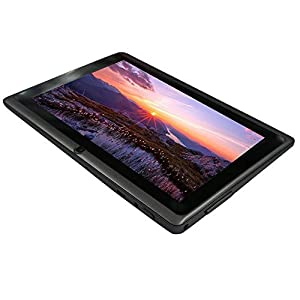Yuntab 7 inch Google Android Tablet PC Wifi 8GB Q88 Quad Core 1024x600 Resolution Dual Camera Google Play Pre-loaded 3D Game