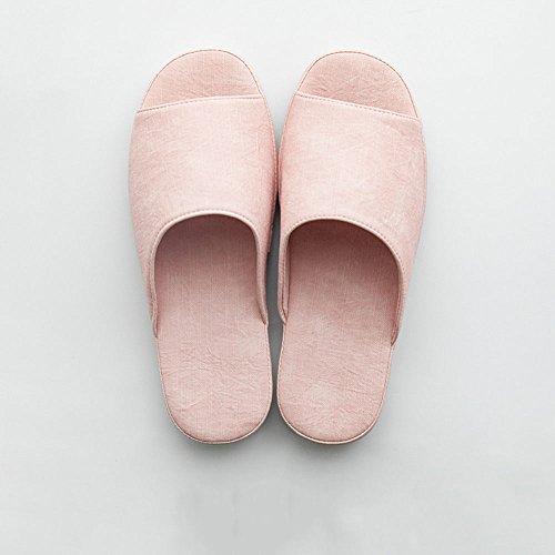 Facoltativo Le Portano colore Pink Zhirong Donne Impermeabile Dimensioni Pantofole Uomini Colore Domestici E Light Antisdrucciolevoli Gli Puro Inferiori Interni FUFaqrf