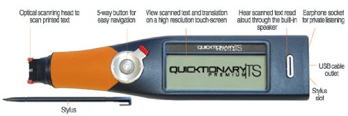 Quicktionary TS Premium English-Spanish Translator Scanner by Quicktionary