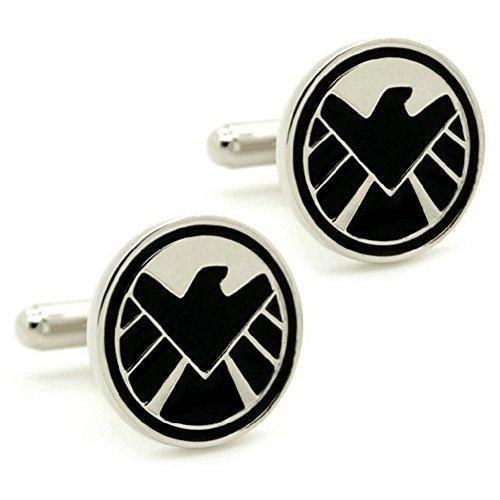 S.H.I.E.L.D. Cufflinks Super Hero Comic Shield Avengers