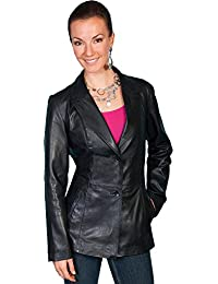 Women's Lamb Leather Blazer - L646 11