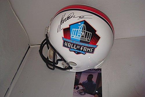 - Marcus Allen Signed Hall of Fame Riddell Full Size Football Helmet! Oakland Raiders Legend