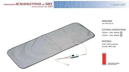 Termocoperte Professionali Per Estetica.Termocoperta 150x50 Ml Made In Italy Termo Beauty Piccola Per
