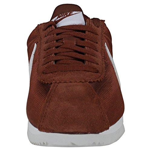203 Femme NIKE Sneakers Cortez Nylon Classic Sepia Basses WMNS White Red Multicolore wqZ6PF