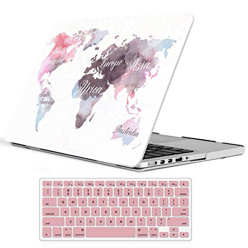 iCasso Protective 2012 2015 Keyboard Watercolour