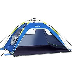 Glymnis Pop Up Beach Tent 3-4 ...
