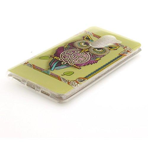Funda Xiaomi Redmi 4A , Ycloud TPU Caparazón protector Diseño pequeño Estilo silicona Carcasa Case Cover - Diente de león cu2