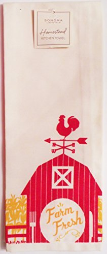 Sonoma Picnic Basket - Sonoma Life + Style Homestead Cotton Decorative Kitchen Towel - Farm Fresh