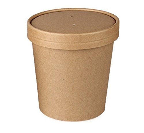 ice cream cups brown - 5