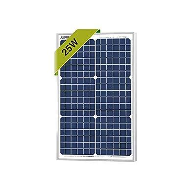 25 Watts Monocrystalline Newpowa 12v Mono Solar Panel Module 20W < 25W < 30W Rv Marine Boat Off Grid