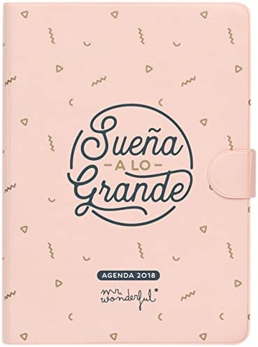 Mr. Wonderful WOA08862es - Agenda 2018, día por pagina, diseño ...