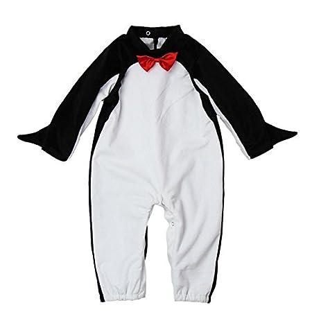 Cute Infant Toddler pingüino disfraz ropa de bebé body de Festival Talla:Small(6-12 Months): Amazon.es: Bebé