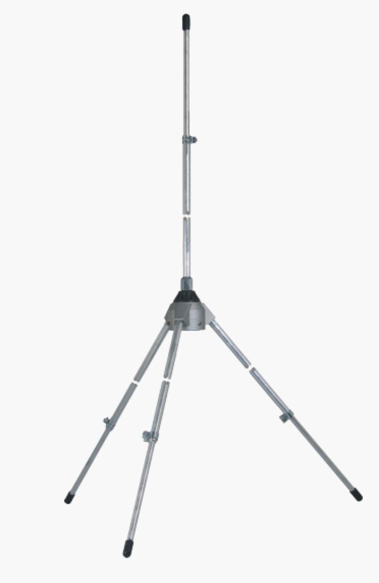Sirio Antenna GPA3575 135-175 MHz Ground Plane Base Antenna, 300W, 2.15 dBi