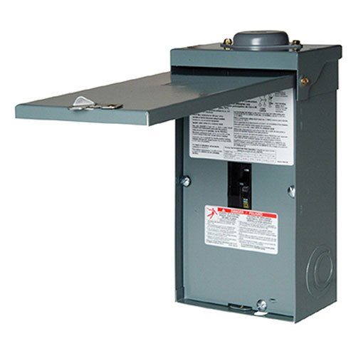 Square D by Schneider Electric QO2100NRBCP QO 100 Amp Two-Pole Outdoor Circuit Breaker Enclosure with QO2100 Breaker Included by Square D by Schneider Electric