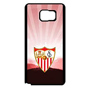 Beautiful Great Cover Case Sevilla FC Logo Phone Case for Samsung Galaxy Note 5 Sevilla Symbol Cover