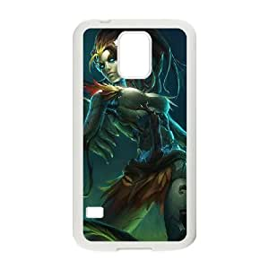 Samsung Galaxy S5 Cell Phone Case White League of Legends Haunted Zyra Zswcc
