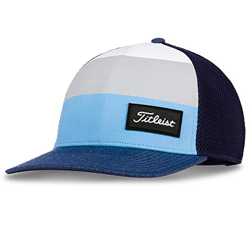 (Titleist Junior Golf Hats (Sports Mesh, Tour Performance, Surf Stripe, Performance Visor) (Junior Surf Stripe,)