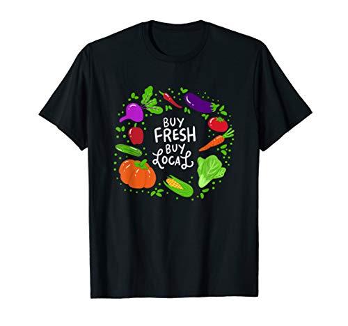 Buy Local Dairy Farm Organic permaculture T shirt Gift (Buy Local Tshirt)