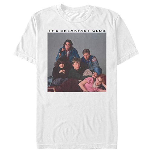 Fifth Sun The Breakfast Club Men's Detention Group Pose White T-Shirt -
