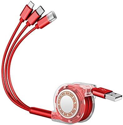 TOUSHI Cable Cargador Teléfono móvil Cable de Datos Cable de ...