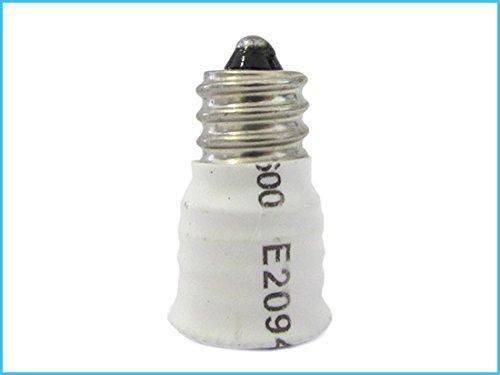 2 adaptadores de rosca E12 a E14 para portalámparas de bombillas LED: Amazon.es: Iluminación