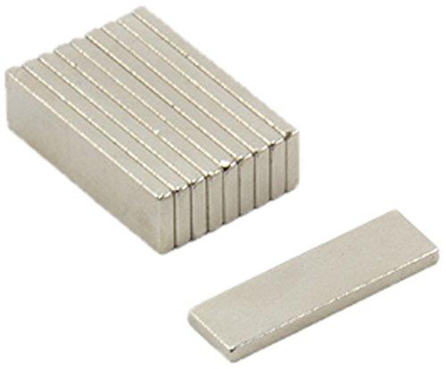 0,86kg force dadh/érence Magnet Expert/® 20 x 6 x 1,5mm samarium cobalt aimant pack de 10