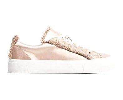 5395f9fe01d Amazon.com   Zara TRF Women Satin Fashion Sneakers, Champagne, Size 11    Fashion Sneakers