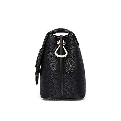 652cb953bc33 Cujubag Women Leather Shoulder Bag Wide Strap Khaki 23x16x10cm