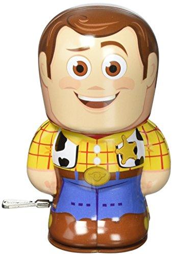 Disney Pixar Toy Story Woody Bebot Tin Wind Up Action Figure