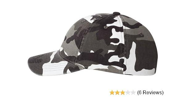 636fb29699bd8 Amazon.com  Flexfit mens Cotton Camouflage Cap(6977CA)-SILVER CAMO-S M   Clothing