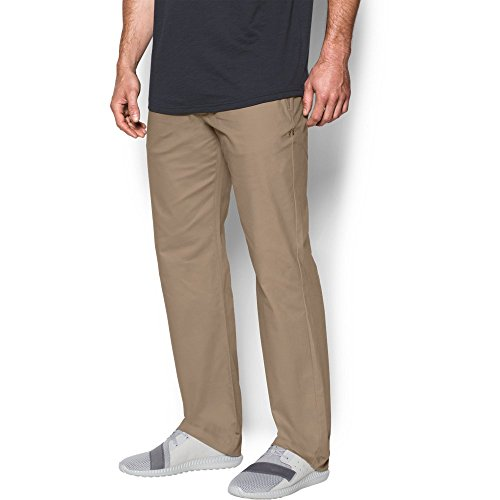Under Armour Men's Performance Chino – Straight Leg, Canvas/Canvas, (Nike Khaki Pants)