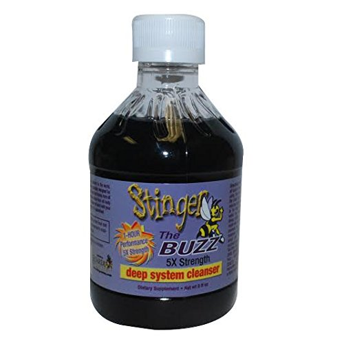 Stinger the Buzz 5x Strength 1 Hour Total Detox Deep System Cleanser - 8oz