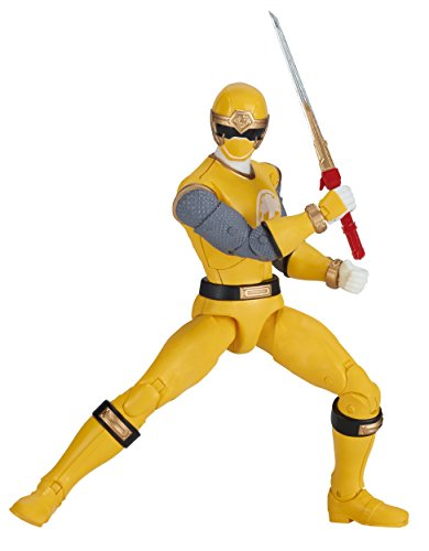 Power Rangers Legacy ‑ 6.5-Inch Ninja Storm Yellow Ranger Legacy Figure